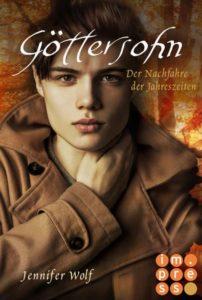 "alt=""Buchcover Göttersohn Impress"""