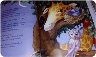 "alt=""Illustration - Frau Giraffe zieht um"""