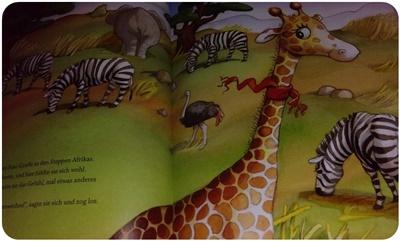 "alt=""Frau Giraffen zieht um - Illustrationen 1"""