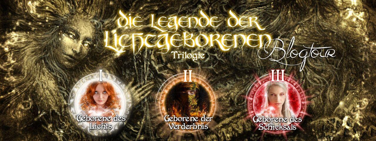 """alt=""""Die Legende der Lichtgeborenen Trilogie"""""""