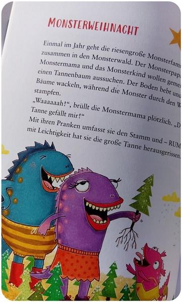 """alt=""""""""Monsterweihnacht"""" aus 123 Minutengeschichten Kunterbunte Weihnachten"""""""