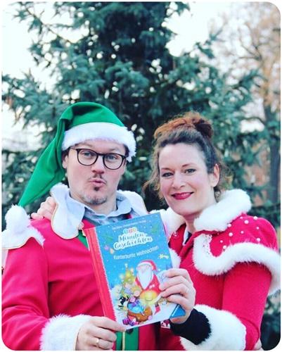 "alt=""Cally Stronk & Christian Friedrich - Weihnachtsfotos"""