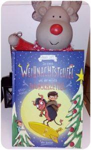 """alt=""""Cover, Der kleine Weihnachtsteufel und der verflixte Wunschzettel"""""""