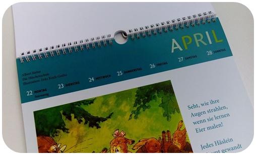 "alt=""Wochenkalender - Arche Kinder Kalender 2019"""