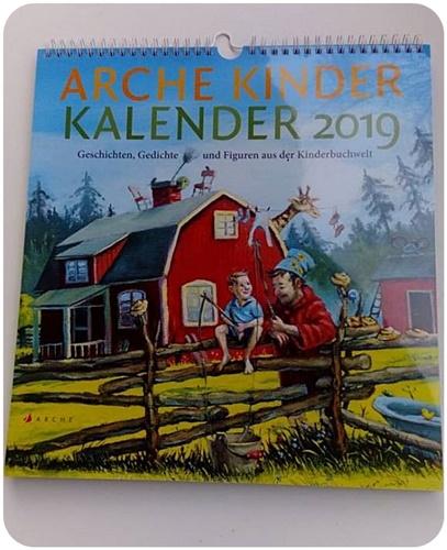 """alt=""""Arche Kinder Kalender 2019"""""""