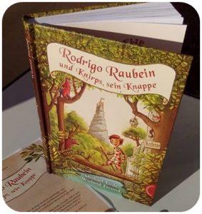 """alt=""""Rodrigo Raubein und Knirps sein Knappe"""""""