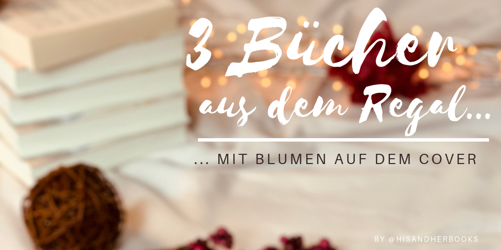 """alt=""""Banner, 3 Bücher, mit Blumen"""""""