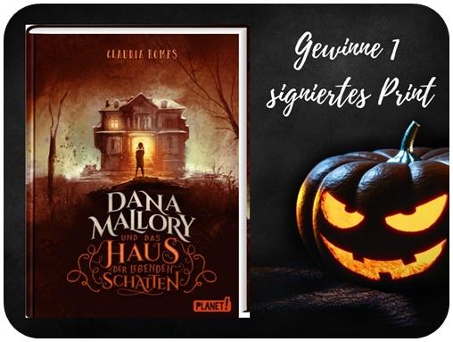 """alt=""""Gewinn Dana Mallory Print, Halloween Special"""""""