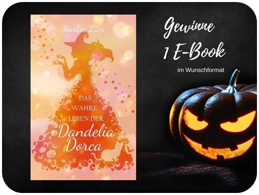"alt=""Gewinn Das wahre Leben der Dandelia Dorca, Marlies Luer, E-book, Halloween Special"""