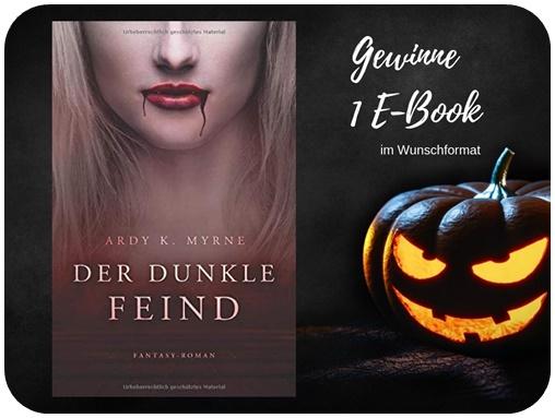 "alt=""Gewinn Der dunkle Feind, Ardy K. Myrne, E-book, Halloween Special"""