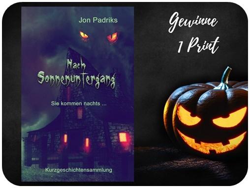 "alt=""Gewinn Nach Sonnenuntergang, Jon Padriks, Print, Halloween Special"""