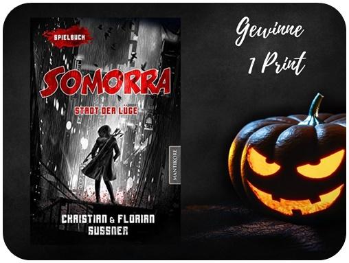 "alt=""Gewinn Somorra, Mantikore Verlag, Print, Halloween Special"""
