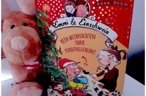 """alt=""""Emmi & Einschwein 4: Kein Weihnachten ohne Puddingschuhe"""""""