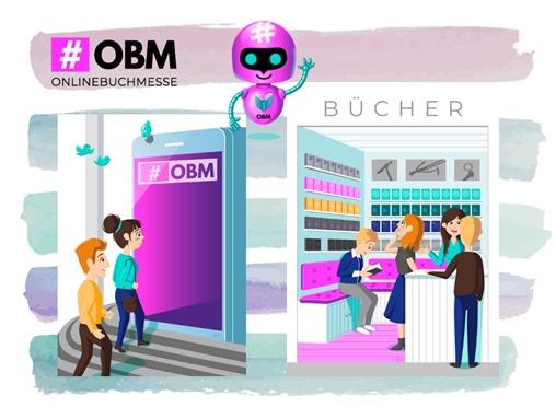 """alt=""""Onlinebuchmesse, #OBM2019Halle4"""