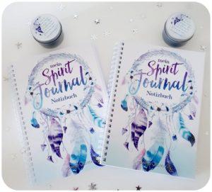 """alt=""""Gewinne Notitzblock und Kerze Spirit Journal"""""""