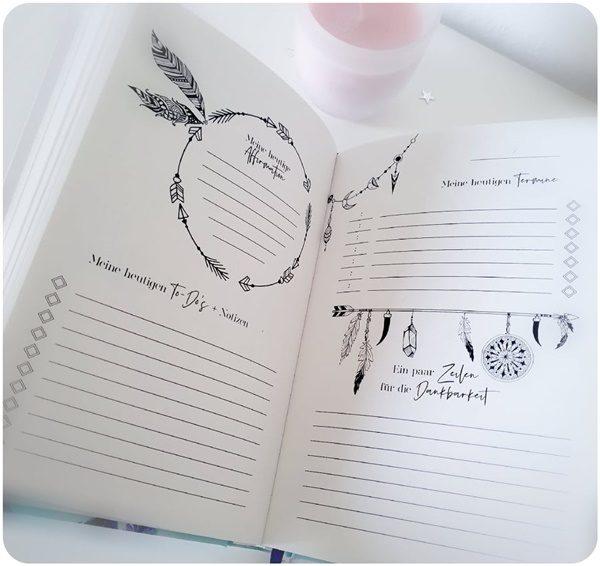 """alt=""""Mein Spirit Journal - Tagesplan"""""""