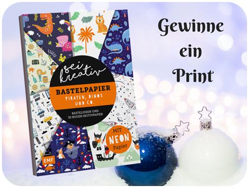 "alt=""Print, Sei Kreativ! Bastelbogen"""