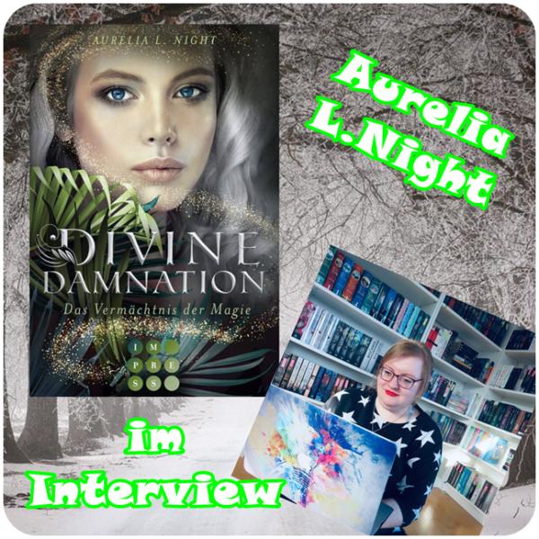 """alt=""""Interview mit Aurelia L. Night Buchparty 2020"""""""
