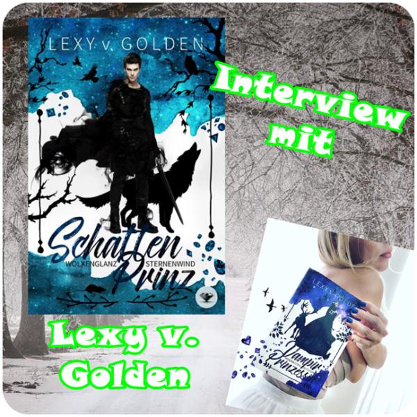 """alt=""""Interview mit Lexy v. Golden Buchparty 2020"""""""