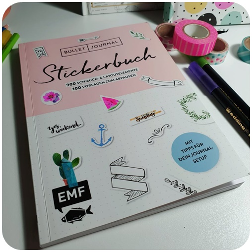 "alt=""Bullet Journal Stickerbuch"""