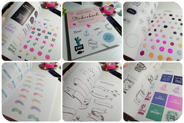 "alt=""Stickerbuch Bullet Journal EMF"""