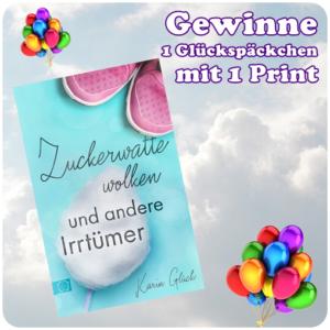 """alt=""""Zuckerwattewolken und andere Irrtümer- Glücksbox"""""""