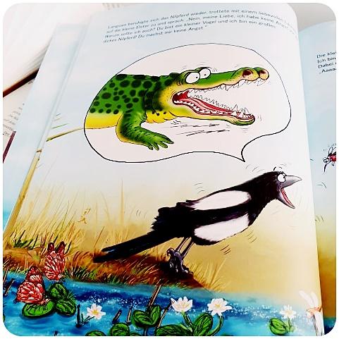 """alt=""""Aber ich bin doch ein Krokodil. Die kleine Elster Elsa"""""""