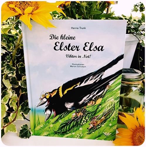 """alt=""""Viktor in Not. Die kleine Elster Elsa"""""""
