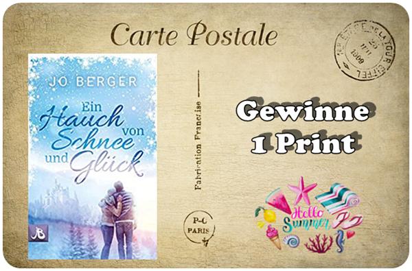 """alt=""""Ein Hauch von Schnee und Glück - Print"""""""