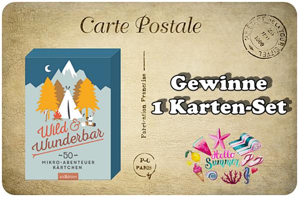 """alt=""""Wild und Wunderbar - Karten"""