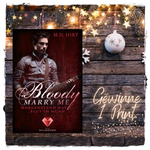 """alt=""""Bloody Marry Me 4. Morgenstund hat Blut im Mund, M.D.Hirt, Print"""""""