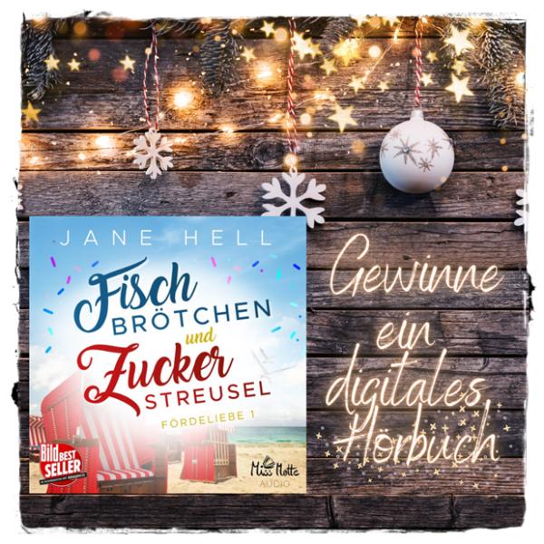"""alt=""""Fischbrötchen und Zuckerstreusel, Miss Motte, digitales Hörbuch,"""""""