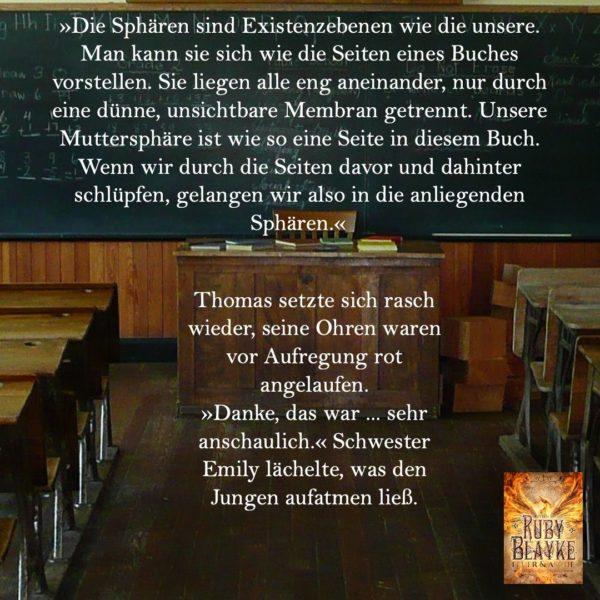 """alt=""""Die Sphären-Chroniken, Textschnipsel"""""""