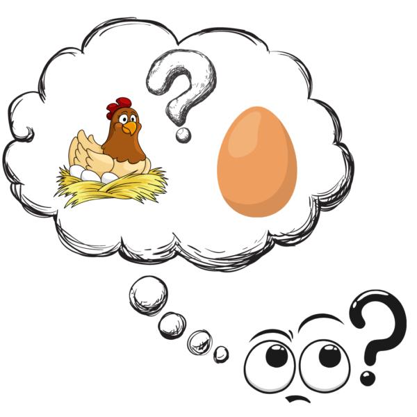 """alt=""""Ei oder Huhn"""""""